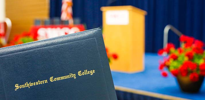Southwestern Community College Diploma Cover
