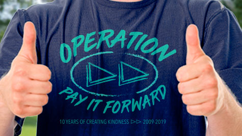 Operation Pay it Forward t-shirt